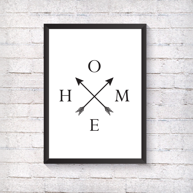 Home Arrows - Alotta Style - Interior Prints and Posters