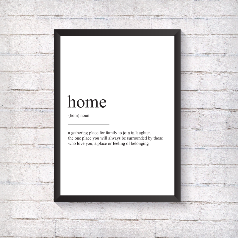 Home Definition - Alotta Style - Interior Prints and Posters