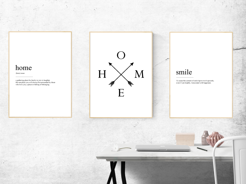 Definitions & Love - Alotta Style - Interior Prints and Posters