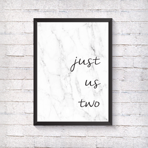 just us two - Alotta Style - Interior Prints and Posters