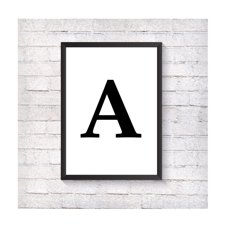 Letter - Alotta Style - Interior Prints and Posters