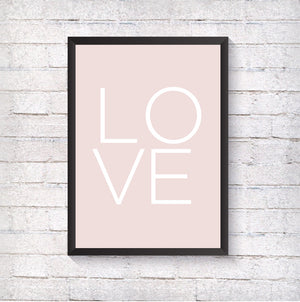 LOVE - Alotta Style - Interior Prints and Posters