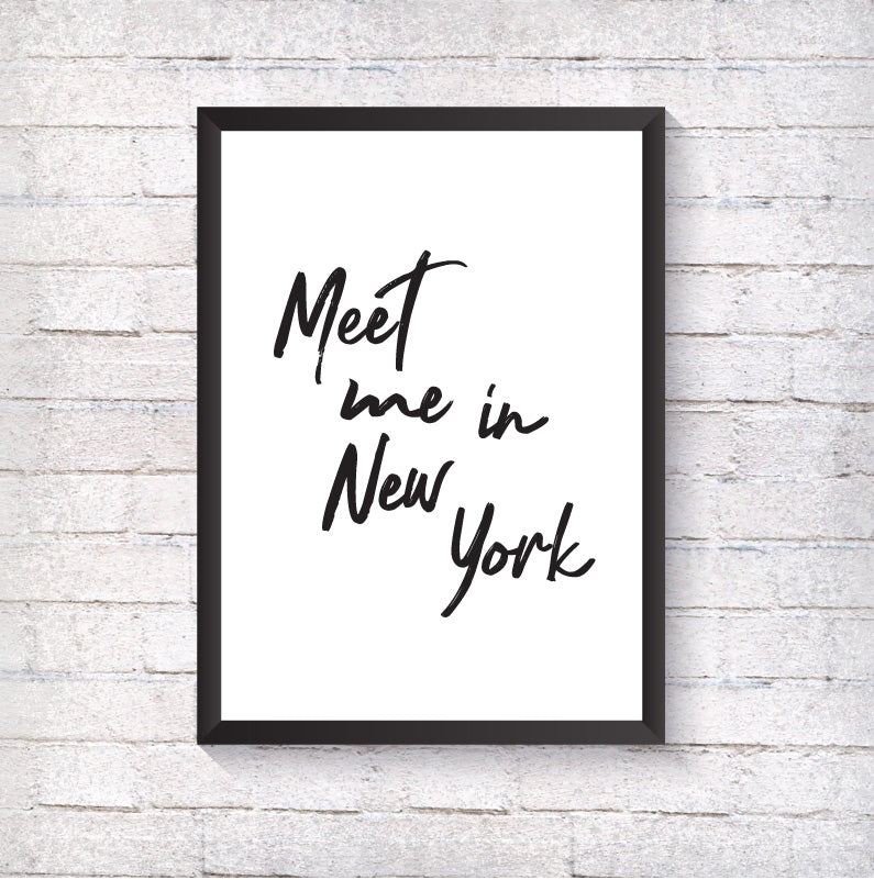 Meet me in... - Alotta Style - Interior Prints and Posters