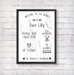 Welcome to the world - Alotta Style - Interior Prints and Posters