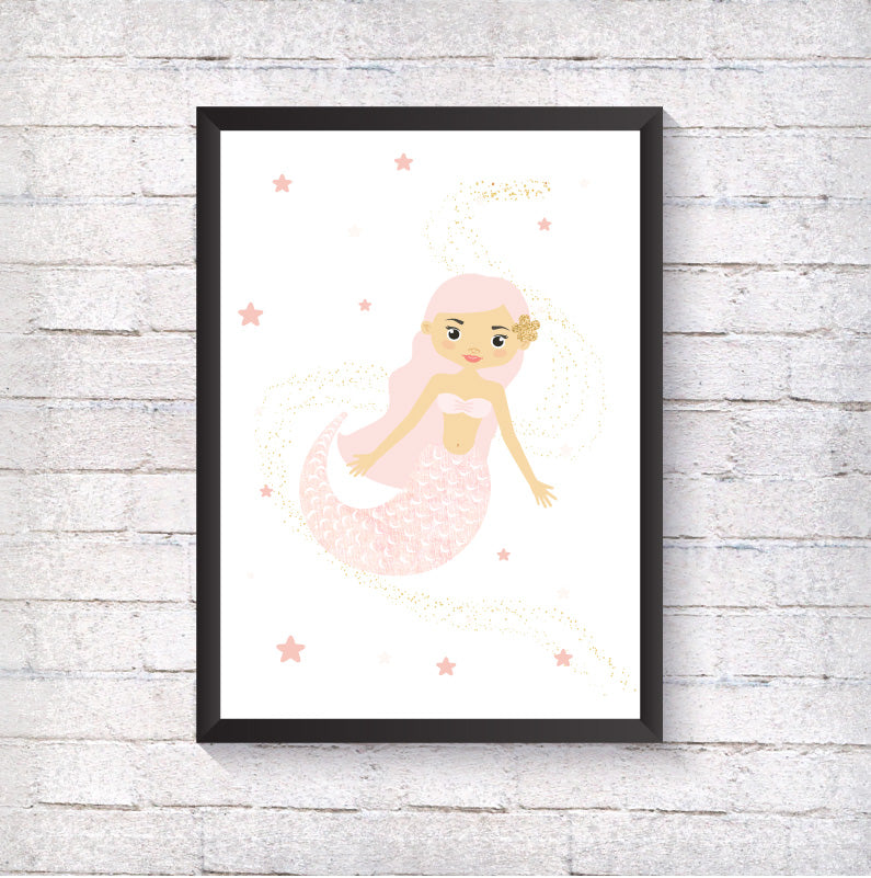 Mermaid - Alotta Style - Interior Prints and Posters