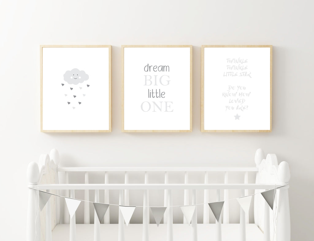 Grey Cloud, Dream and Star - Alotta Style - Interior Prints and Posters