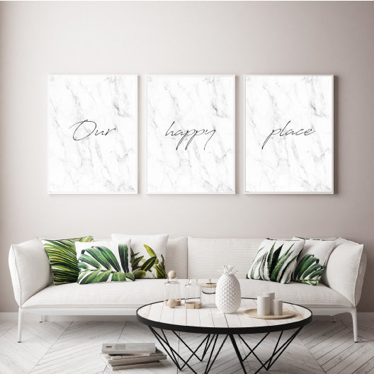 Our happy place - Alotta Style - Interior Prints and Posters