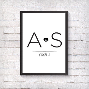Letter Love - Alotta Style - Interior Prints and Posters