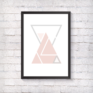 GEO Multiple Triangles - Alotta Style - Interior Prints and Posters