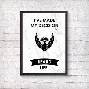 Beard Life - Alotta Style - Interior Prints and Posters