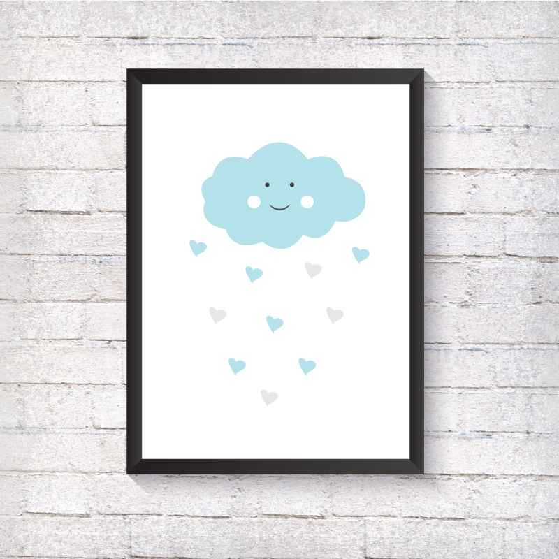 Blue Cloud - Alotta Style - Interior Prints and Posters
