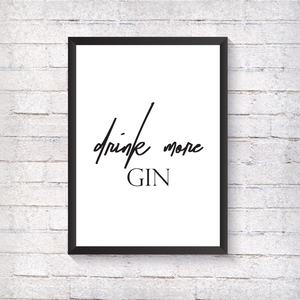 Gin - Alotta Style - Interior Prints and Posters