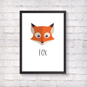 Fox - Alotta Style - Interior Prints and Posters
