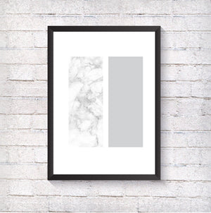 Grey & Marble - Alotta Style - Interior Prints and Posters