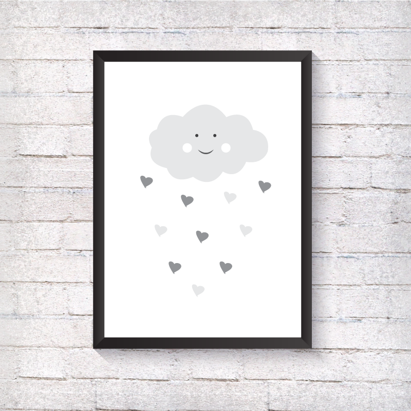 Grey Cloud - Alotta Style - Interior Prints and Posters