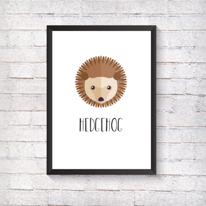 Hedgehog - Alotta Style - Interior Prints and Posters