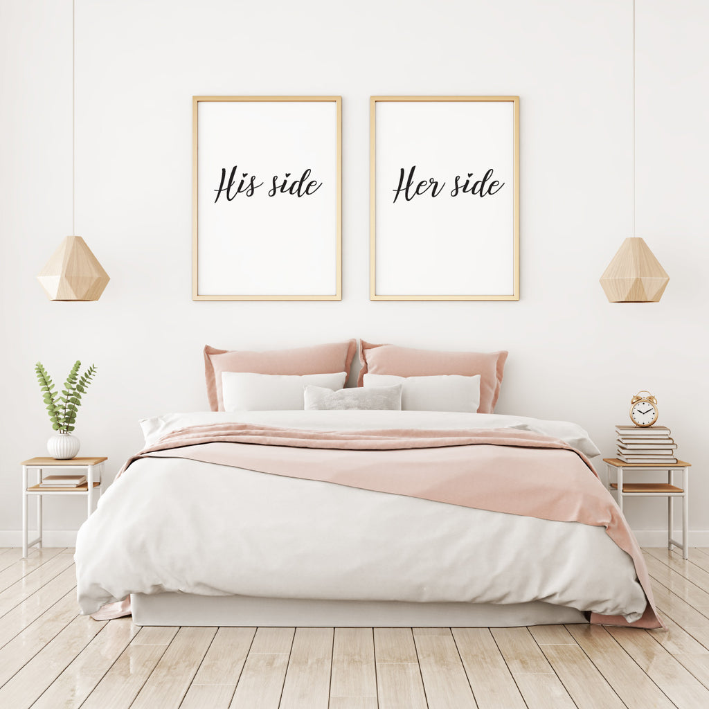 His side - Her side - Alotta Style - Interior Prints and Posters