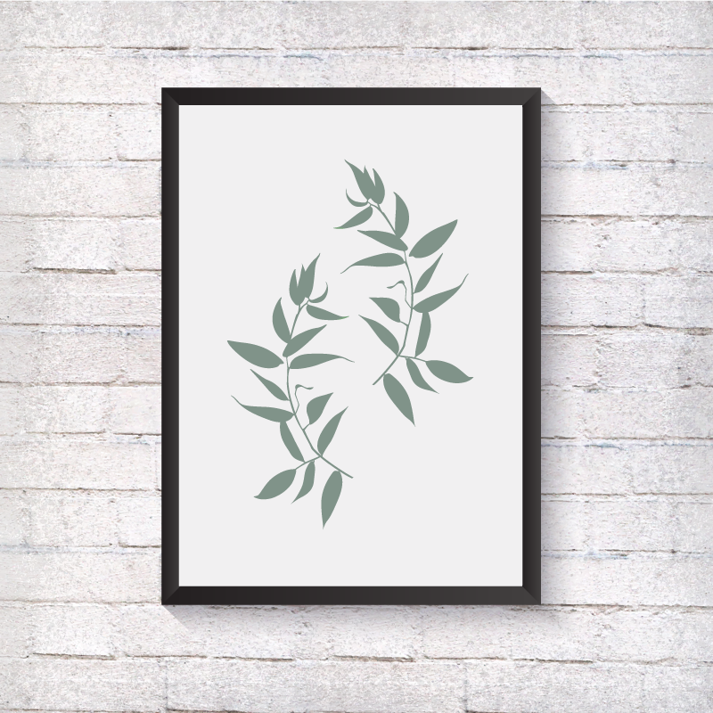 Leaves - Alotta Style - Interior Prints and Posters