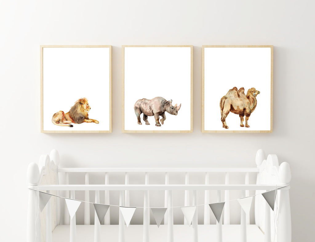 Lion, Rhino & Camel - Alotta Style - Interior Prints and Posters