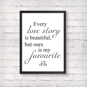 Love Story - Alotta Style - Interior Prints and Posters