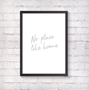 No place like home - Alotta Style - Interior Prints and Posters