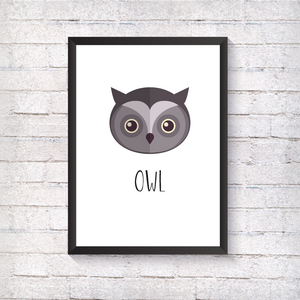 Owl - Alotta Style - Interior Prints and Posters
