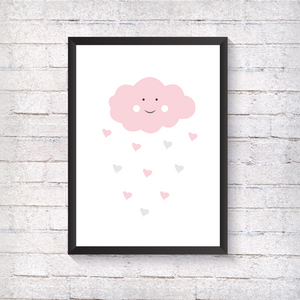 Pink Cloud - Alotta Style - Interior Prints and Posters