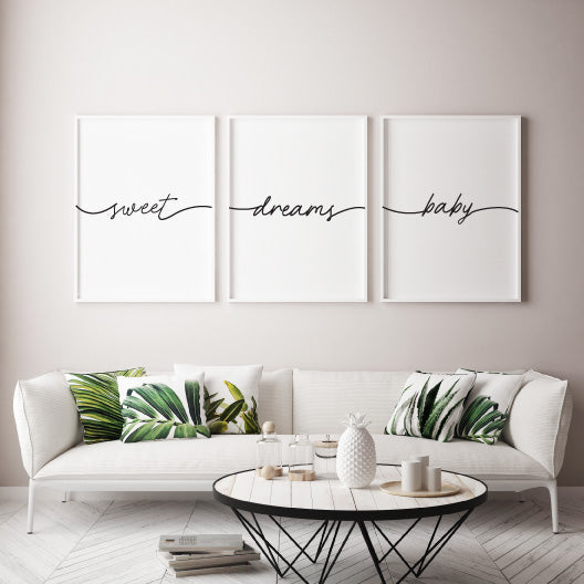 Sweet Dreams Baby - Alotta Style - Interior Prints and Posters