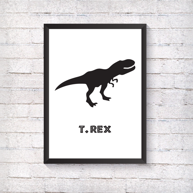 T-Rex - Dinosaur - Alotta Style - Interior Prints and Posters