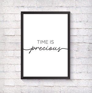 Time is precious - Alotta Style - Interior Prints and Posters