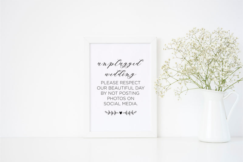 Unplugged Wedding - Alotta Style - Interior Prints and Posters