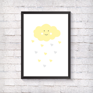 Yellow Cloud - Alotta Style - Interior Prints and Posters