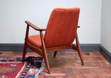 Teak Armchair By Louis Van Teeffelen Mid Century Easy Chair