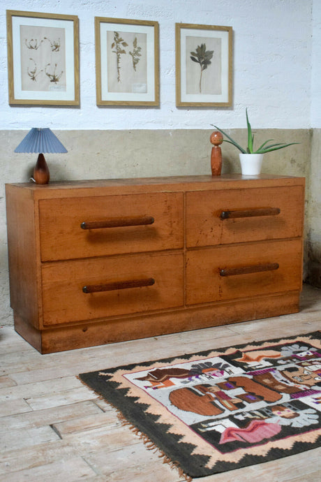 Antique/Vintage Oak Haberdashery Drawers / Counter