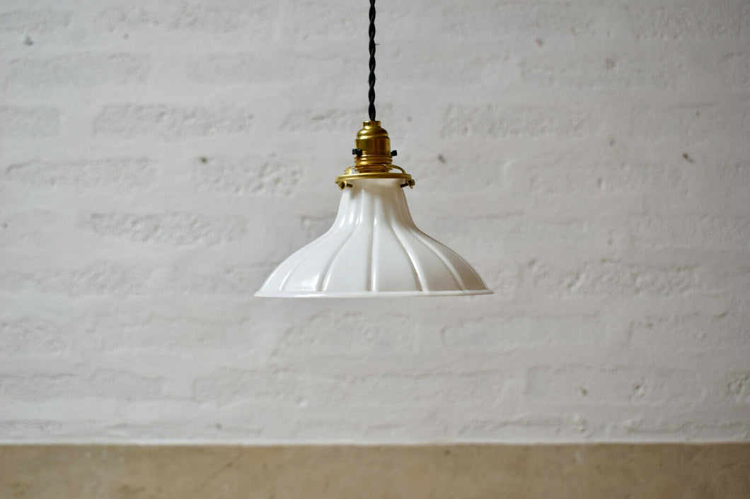 Vintage White Pendant Reflektin Light Shade