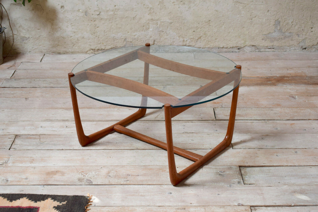 Danish Mid Century Coffee Table By France and Sons