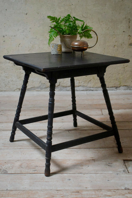 Antique Jacobean Style Side Table