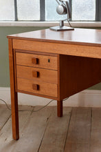 Mid Century Danish Desk by Domino Mobler