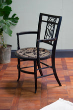 E.W. Godwin style Ebonised Armchair Aethstetic Movement