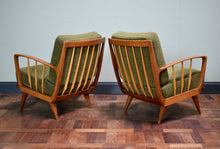 Pair Of Mid Century French Arm Chairs