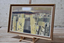 1960's Oil On Board Painting Signed