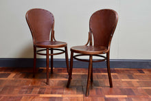 Pair Of Bentwood Thonet Style Chairs