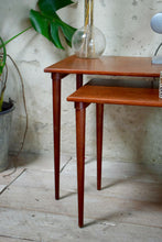 Mid Century Danish Nest Of Tables