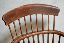 Antique 19th Century Elm Stick Back Windsor Chair