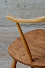 Pair Of Vintage Ercol Cow Horn Dining Chairs