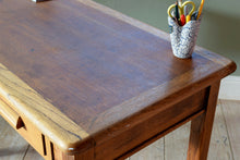 Mid Century Oak Abbess Desk