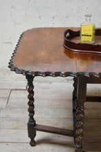 Early 20th Century Barley Twist Drop Leaf Table