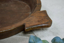 Beautiful Vintage Large Wooden Fruit Bowl