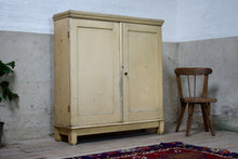 Antique Pine Linen Cupboard