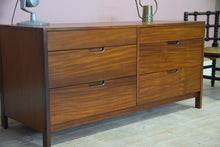 Vintage Mid Century Richard Hornby Afromosa Teak Chest Of Drawers